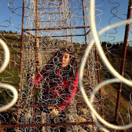 lovelovelove, land installation, san martino a cecione, chianti, 2013-2014, in collaboration with luca carfagna, sporsored by renzo marinai